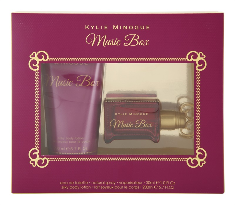 Kylie Minogue Music Box EDT 30 ml + telové mlieko 200 ml
